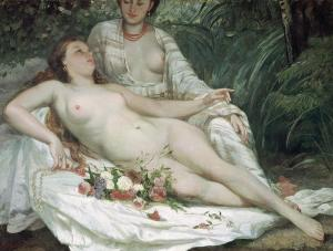 bathers-or-two-nude-women-gustave-courbet